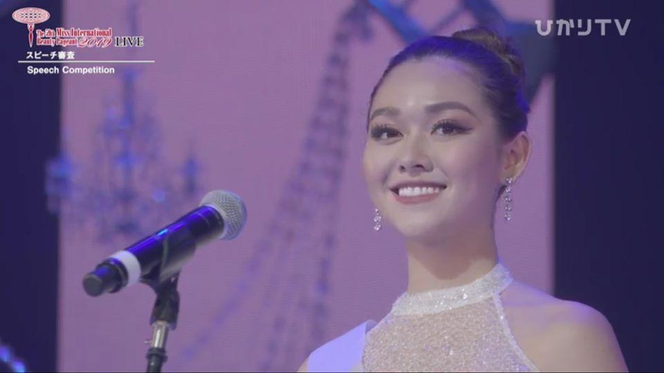 Tường San trượt top 5 gây tiếc nuối, Thái Lan đăng quang Miss International 2019-15