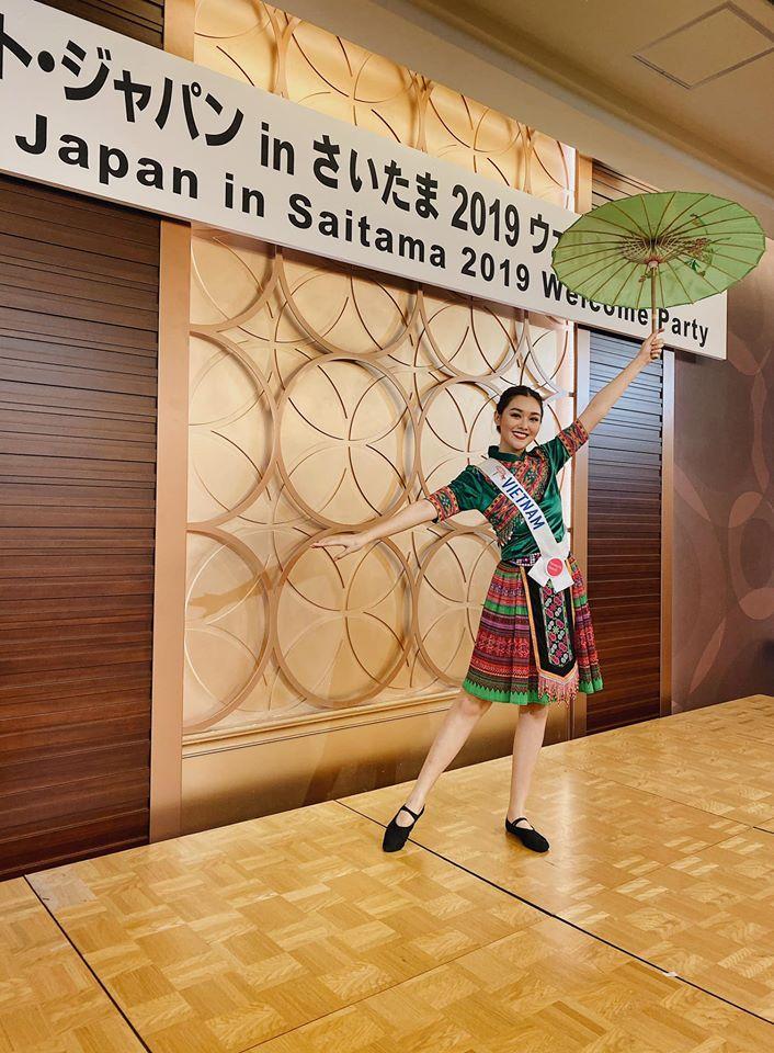 Loạt trang phục giúp Tường San ghi dấu ấn tại Miss International 2019 cho tới khi lọt top 8-9