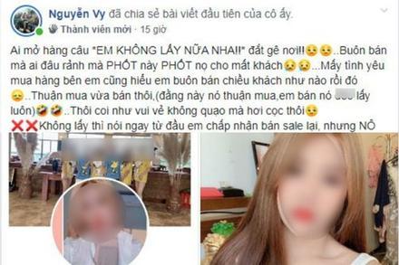 Cô gái xinh đẹp 'bùng' gói hàng trị giá 570 nghìn, tin nhắn và thái độ gây phẫn nộ