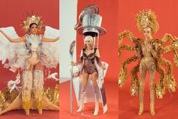 Lộ diện 3 quốc phục thi Miss Universe 2019 của Hoàng Thùy: Khán giả ủng hộ 'Cafe phin sữa đá'