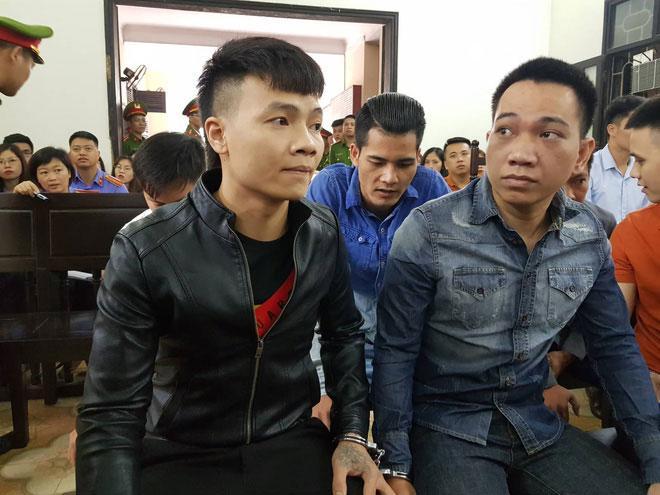Hàng trăm đàn em giang hồ đến tòa theo dõi phiên xét xử Khá Bảnh-8