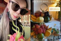Ailee hí hửng khoe ảnh ở Đà Nẵng, 'mê mệt' trái cây Việt Nam