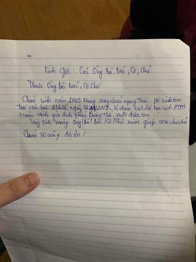Nữ sinh 2k ở Nam Định bỏ con 10 ngày tuổi kèm lời nhắn cháu còn là học sinh, không thể nuôi được con-2