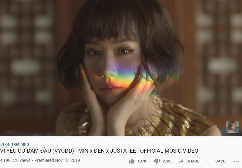 Làng nhạc Việt lại lần nữa ghi nhận tên của nữ ca sĩ 3 lần đu đưa lên top trending chỉ trong 1 năm-2