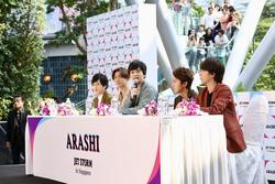 Nhóm nhạc thần tượng Nhật Bản - Arashi công bố tour châu Á Jet Storm 2019