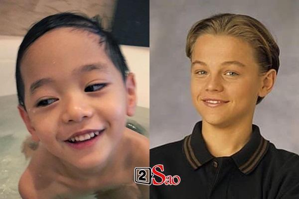 Quý tử được cả showbiz yêu thích của Trà My Idol có nét giống tài tử Leonardo DiCaprio-2