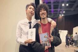 'Huyền thoại hiphop' Hàn Quốc khen ngợi RM (BTS)