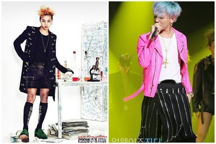G-Dragon luôn được khen dù mặc váy dài hay quần áo khó hiểu