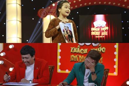 Cô bé 9 tuổi 'chửi' xối xả khiến Trấn Thành – Trường Giang không kịp vuốt mặt tại Thách Thức Danh Hài