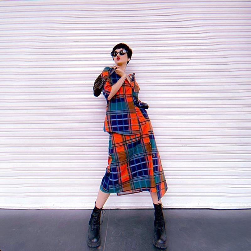 Đặng Thu Thảo mặc váy thùng thình rộ tin bầu bí lần 2 - Hoài Linh lần đầu dát cả cây hàng hiệu chất lừ-3