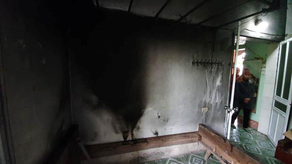 Vụ chồng giết vợ rồi đốt xác ở Thái Bình: Ám ảnh khói đen bao trùm kín hiện trường-6