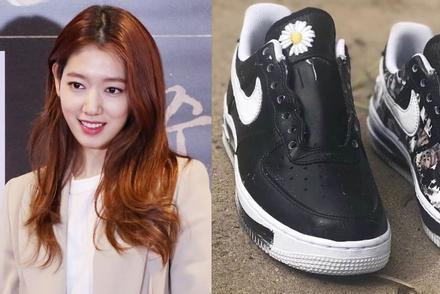 Park Shin Hye nhanh tay sắm đôi giày giới hạn được thiết kế bởi G-Dragon