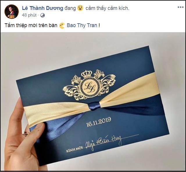 Điểm danh 5 nghệ sĩ được Bảo Thy mời dự cưới: Ngô Kiến Huy đăng thiệp đầu tiên, 4 người còn lại không khó tìm-2