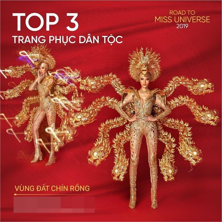 Bản tin Hoa hậu Hoàn vũ 14/11: Khán giả quốc tế nửa khen nửa chê quốc phục của Hoàng Thùy-2