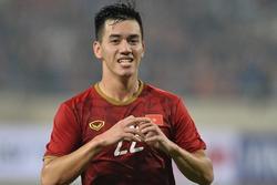 Ghi bàn thắng duy nhất vào lưới UAE, Tiến Linh chia sẻ gì ngay khi kết thúc trận đấu?