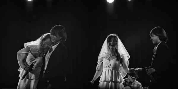 Chia tay Quang Hải, Nhật Lê tung loạt khoảnh khắc làm cô dâu sánh bước bên chú rể đồng giới-2