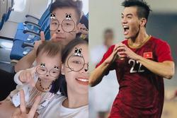 Vợ Hải Quế miễn phí đồ uống cho ai tên Tiến, Linh sau trận thắng UAE