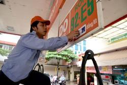 Giá xăng tăng trở lại sau 2 lần giảm liên tiếp
