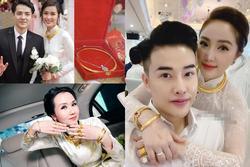 Mỹ nhân Việt lấy chồng 'vàng trĩu cổ kim cương nặng tay', xịn xò nhất vẫn không ai qua nổi Đông Nhi