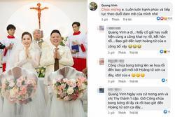Dàn sao Việt đua nhau dặn dò Bảo Thy 'đừng từ bỏ đam mê' trong ngày cưới