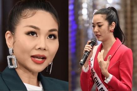 Thanh Hằng chất vấn Thúy Vân tin đồn gây áp lực ép đổi giám khảo Hoa hậu Hoàn vũ Việt Nam 2019