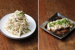 Hai món salad ngon, dễ làm từ thịt gà trắng