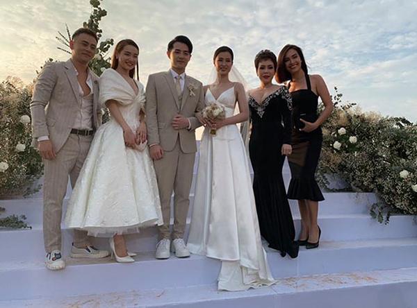 Sao Việt bị chê mặc lố lấn át cô dâu khi đi đám cưới-1