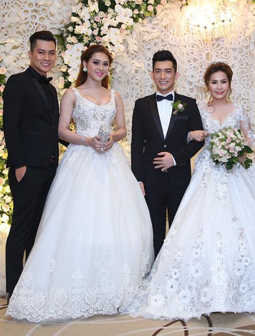 Sao Việt bị chê mặc lố lấn át cô dâu khi đi đám cưới-5