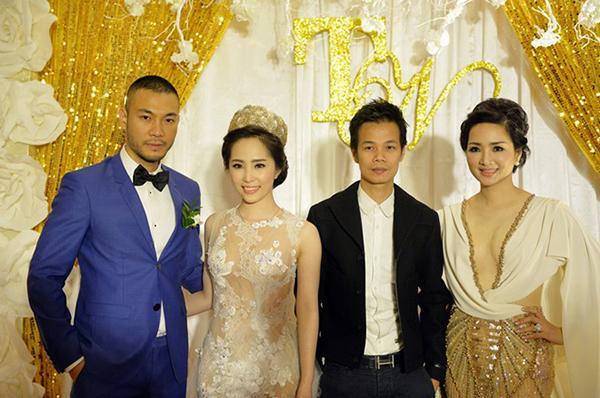 Sao Việt bị chê mặc lố lấn át cô dâu khi đi đám cưới-8