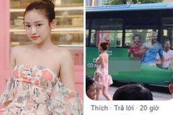 Hà Nội trở lạnh lại mặc váy hoa mỏng tang, Thúy Vi làm dân mạng ngỡ ngàng khi nhìn dung nhan thật
