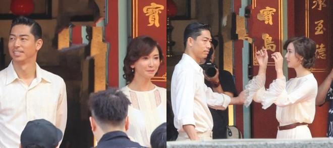 Lâm Chí Linh luyện tập cho hôn lễ cùng váy cưới-3