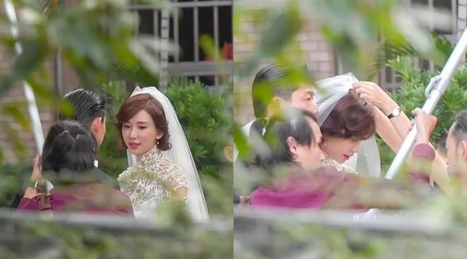 Lâm Chí Linh luyện tập cho hôn lễ cùng váy cưới-2