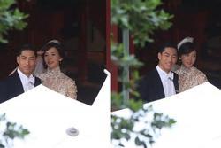 Lâm Chí Linh luyện tập cho hôn lễ cùng váy cưới