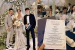 So thực đơn trong tiệc cưới của Cường Đô La, Trường Giang và sao Việt-17