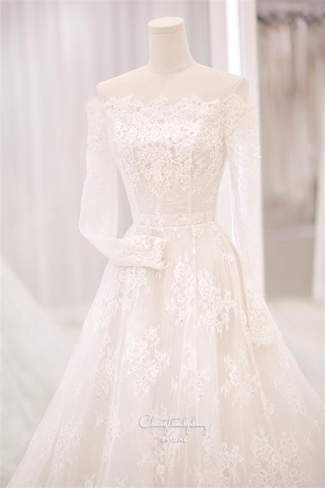 3 bộ chụp ảnh cưới chưa là gì, 3 váy cưới chính thức của Bảo Thy mới thực sự là cực phẩm!-10