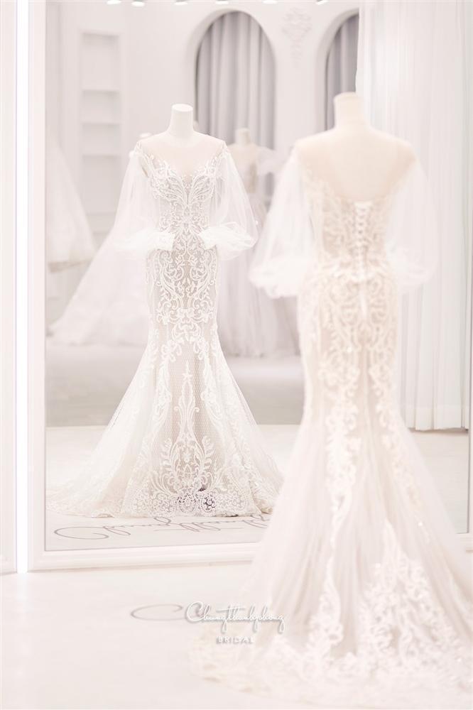 3 bộ chụp ảnh cưới chưa là gì, 3 váy cưới chính thức của Bảo Thy mới thực sự là cực phẩm!-3