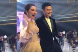 Bảo Thy thay váy, catwalk cùng Quang Vinh ở đám cưới