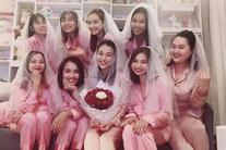 Chi tiết trùng hợp bất ngờ trong tiệc độc thân của MC Hoàng Oanh và Nhã Phương