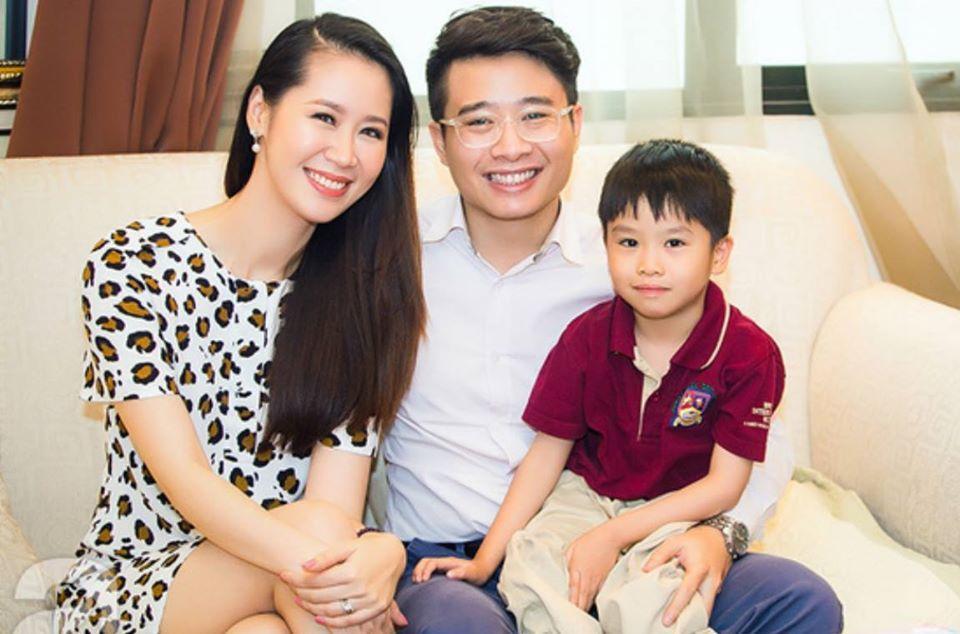 MC Dương Thùy Linh tung ảnh nóng nhưng ngoại hình của ông xã doanh nhân mới chiếm sóng-4