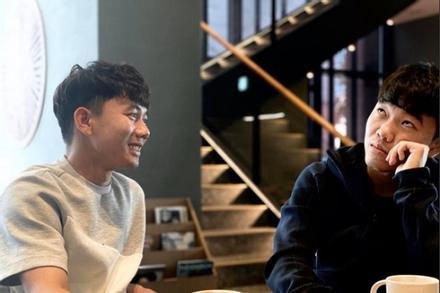 Tình bạn thân thiết của Xuân Trường và Minh Vương