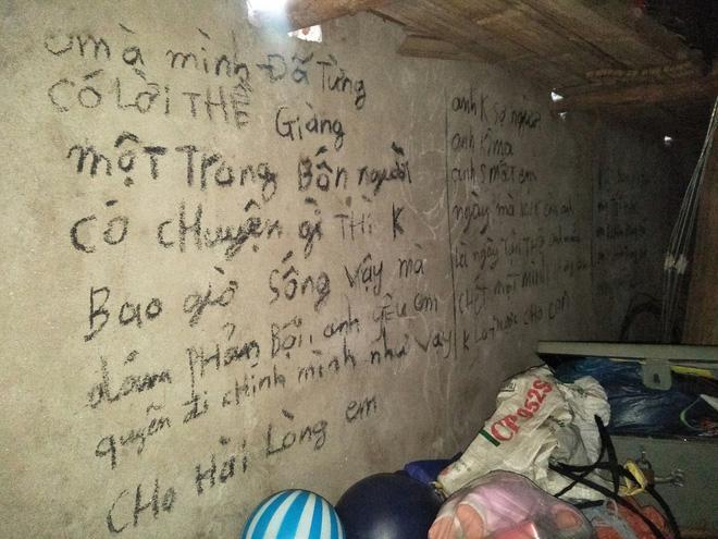 Vụ 3 bố con treo cổ tự tử ở Tuyên Quang: Ám ảnh những dòng chữ kín tường Anh cho em biết thế nào là đau khổ vô tận-3