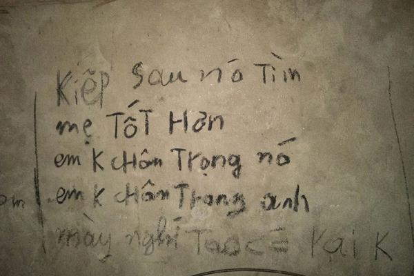 Vụ 3 bố con treo cổ tự tử ở Tuyên Quang: Ám ảnh những dòng chữ kín tường Anh cho em biết thế nào là đau khổ vô tận-5