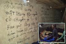 Vụ 3 bố con treo cổ tự tử ở Tuyên Quang: Ám ảnh những dòng chữ kín tường 'Anh cho em biết thế nào là đau khổ vô tận'