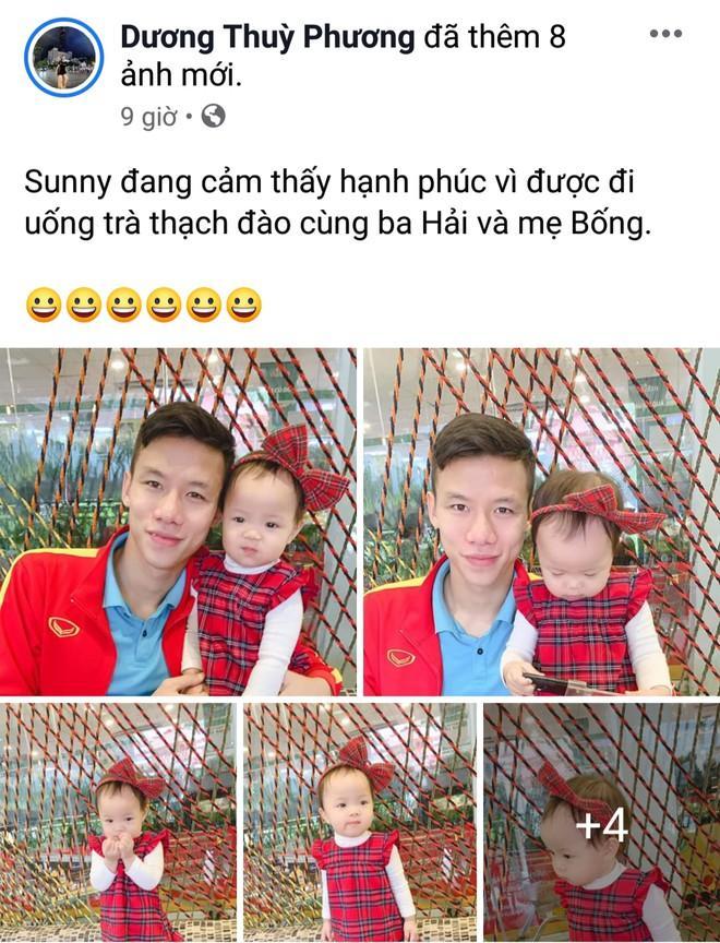 Fan ghen tỵ vì con gái Hải Quế được check-in cùng bố Park, Công Phượng-1