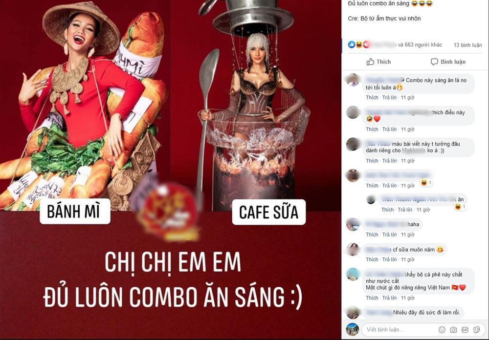 HHen Niê mang Bánh mì dự thi Miss Universe, Hoàng Thùy sẵn sàng Cafe phin sữa đá cho đủ combo ăn sáng-2
