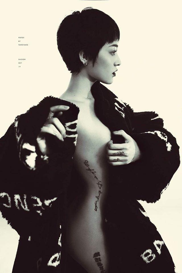 Bảo Anh mặc lại mẫu áo tắm yêu thích của Phượng Chanel và dĩ nhiên ăn đứt đàn chị-1