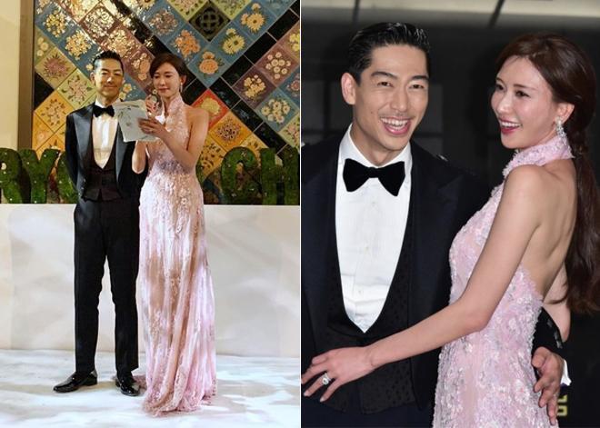 Lâm Chí Linh thay 5 váy trong ngày cưới-7