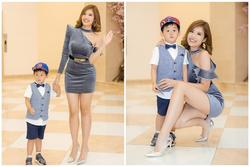 Con trai Hoa hậu Phan Hoàng Thu gây chú ý vì vẻ ngoài đáng yêu chuẩn 'soái ca'