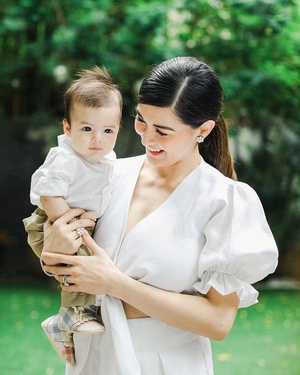 Bị chê mũm mĩm sau sinh, mỹ nhân đẹp nhất Philippines mặc gì để che bắp tay to?-2