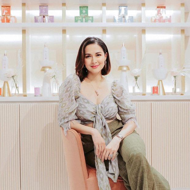 Bị chê mũm mĩm sau sinh, mỹ nhân đẹp nhất Philippines mặc gì để che bắp tay to?-5